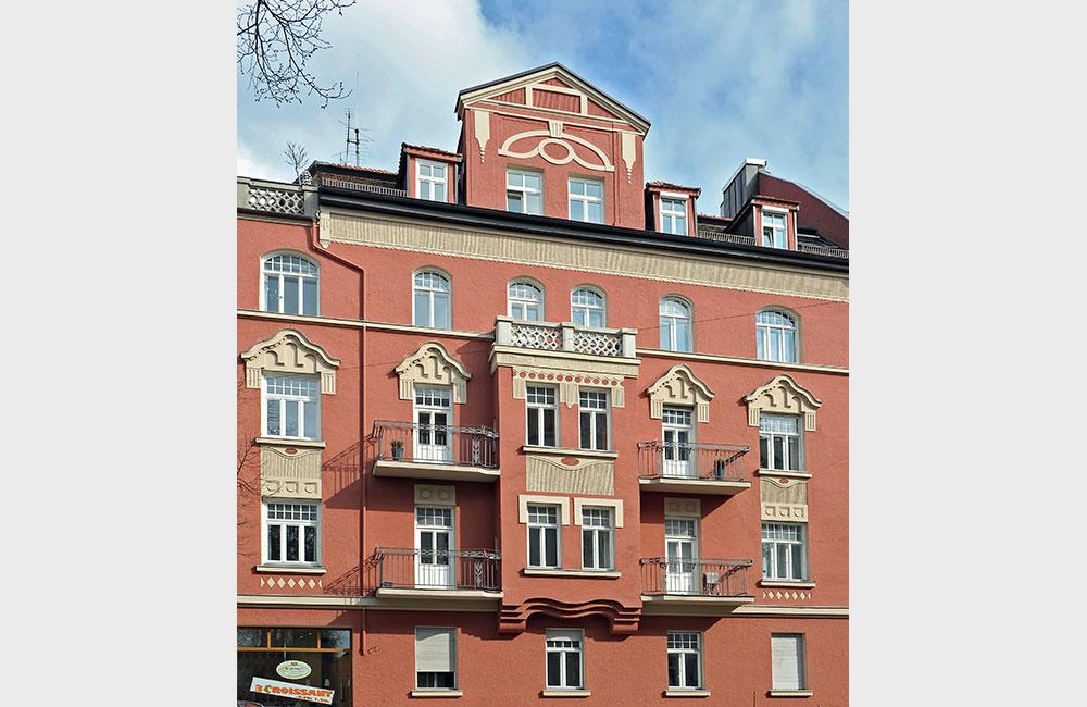 Denkmalschutz & Sanierung München - Schwabing Fassade - Architekturbüro Spengler