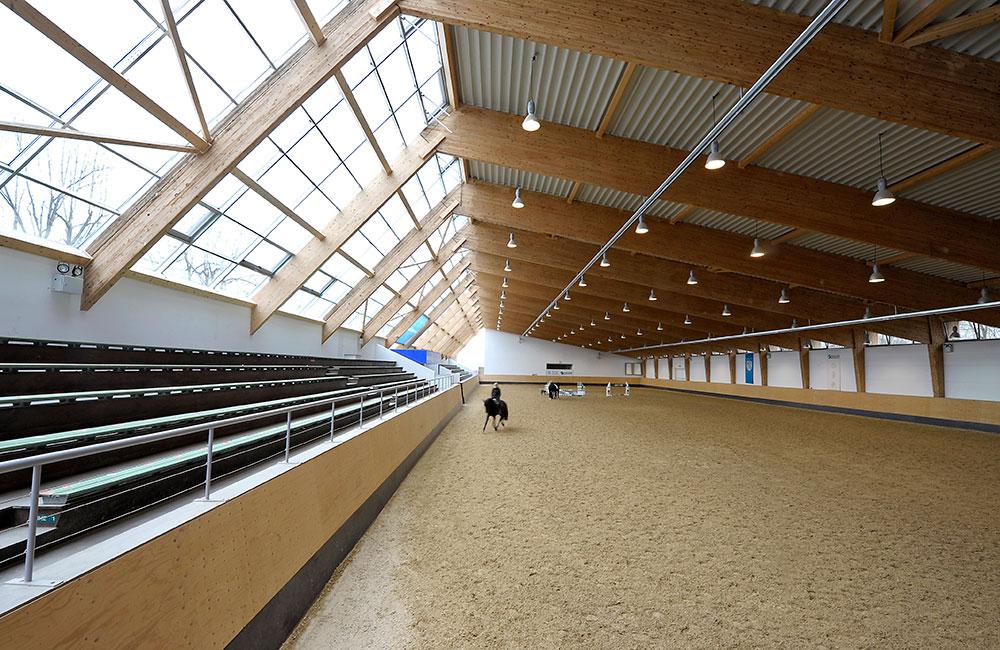 Denkmalschutz & Sanierung München - Olympiareithalle - Architekturbüro Spengler