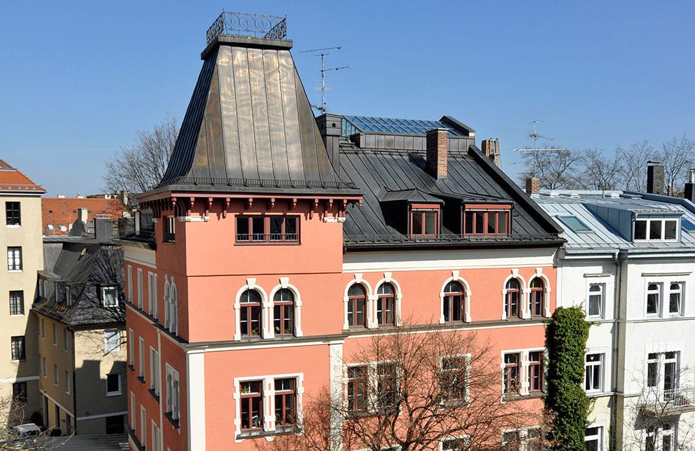 Denkmalschutz & Sanierung München - Dach und Fassade - Architekturbüro Spengler