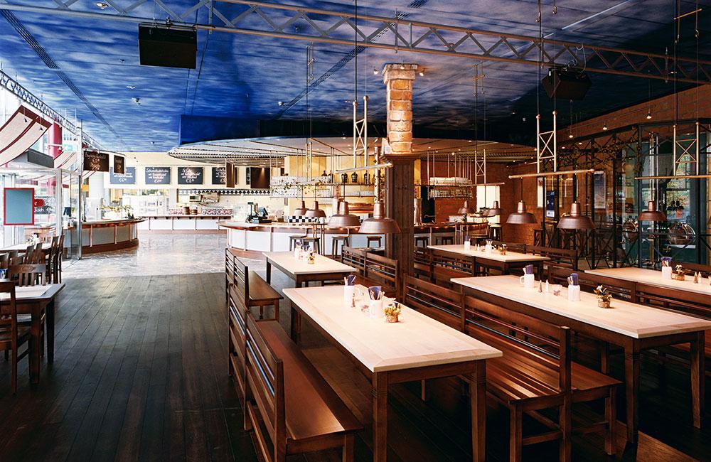 Gastronomie München - Airbräu Flughafen - Architekturbüro Spengler