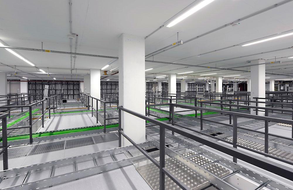 Gewerbebau München - Sendezentrale Technikgebäude - Architekturbüro Spengler