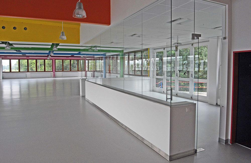 Industriebau München - Müller Präzision Kantine - Architekturbüro Spengler