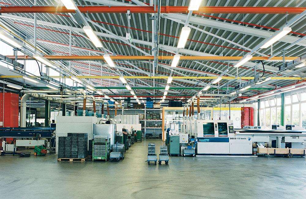 Industriebau München - Müller Präzision Produktion - Architekturbüro Spengler