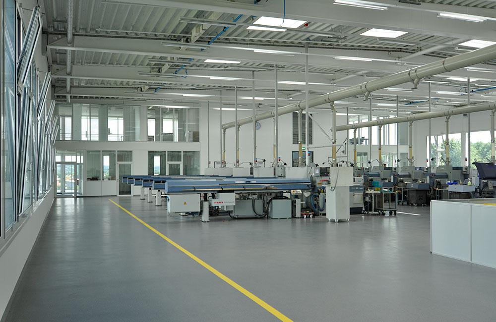 Industriebau München - Müller Präzision Produktionshalle - Architekturbüro Spengler