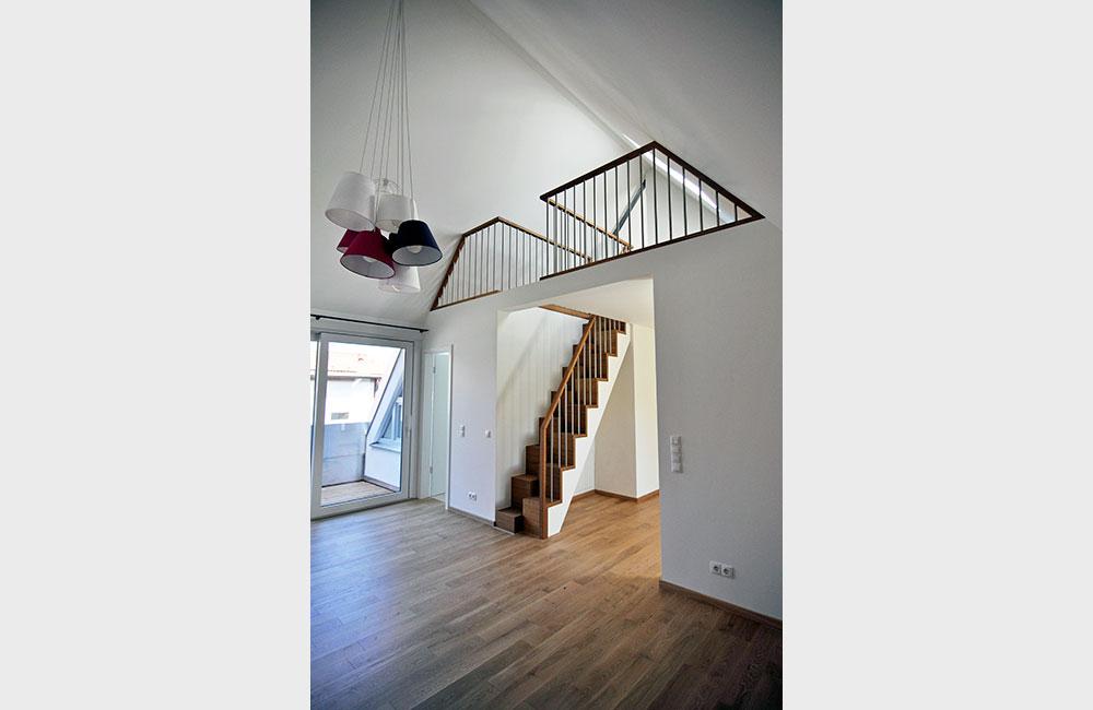Wohnungsbau München - Mehrfamilienhaus - Architekturbüro Spengler